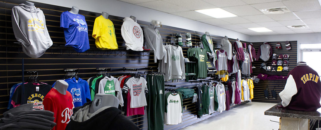 U-Sports carries an extensive selection of local and professional sports apparel